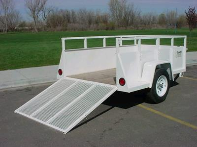 Where to find TRAILER, BOX 6 X10  W RMP 1200 in Boise