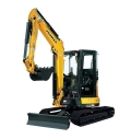 Where to rent EXCAVATOR, 35 CLASS CAB in Boise ID